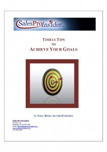 Timely Tips to Achieve Your Goals page