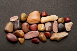 diverse rocks