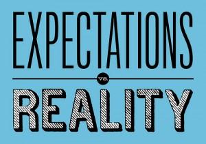 Expectations-v-Reality