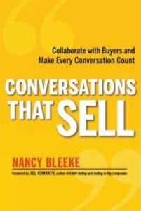 Conversations That Sell - Nancy Bleeke