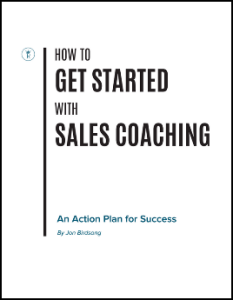 How to Get Started with Sales Coaching - Jon Birdsong