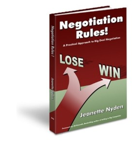 Negotiation Rules - Jeanette Nyden