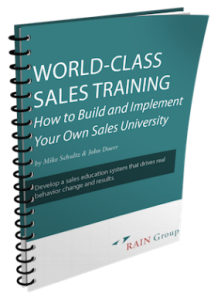 World-Class Sales Training - Mike Schultz and John E Doerr