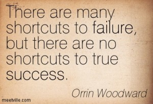 shortcuts to failure