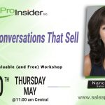Join Us Thursday, May 20th for Virtual Conversations That Sell